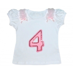 Baby girl 4th Birthday Top