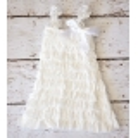 """φορεμα με δαντελα """"Ivory white"""""""