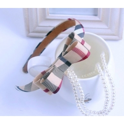 "Alice band ""Burberry style"" bow"
