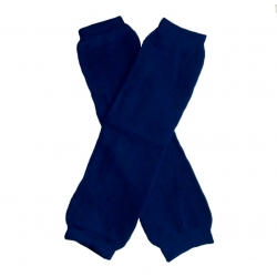 Baby girl leg warmers Navy blue