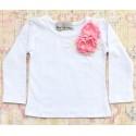 """Μπλουζακι """"Boutique flower"""" pink"""