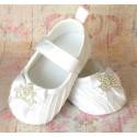 Παπουτσακια ''Princess style'' white