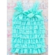 Baby Girl Lace Top Aqua Mint