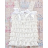 Baby Girl Lace Top Ivory White