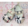 Baby girl shoes Burberry style