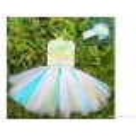 """Φορεμα """"Rainbow"""" με κορδελα"""