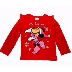 Cotton Long-Sleeved Top Minnie