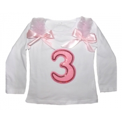 Long-Sleeved 3rd Birthday Top