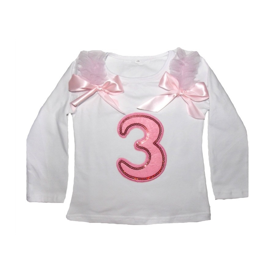 Baby Girl Birthday Cotton Top