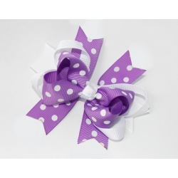 Hair clip-Lavender boutique bow