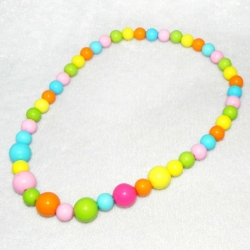 Baby necklace Rainbow