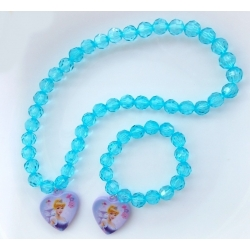 baby girl necklace and bracelet set Disney