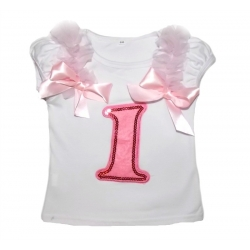 Baby Girl 1st Birthday Top