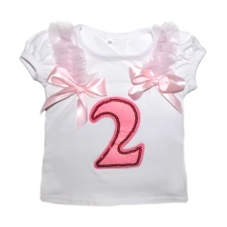 Baby Girl 2nd Birthday Top
