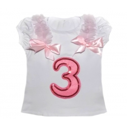 Baby Girl 3rd Birthday Top