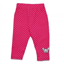 Baby girl leggings Fuchsia