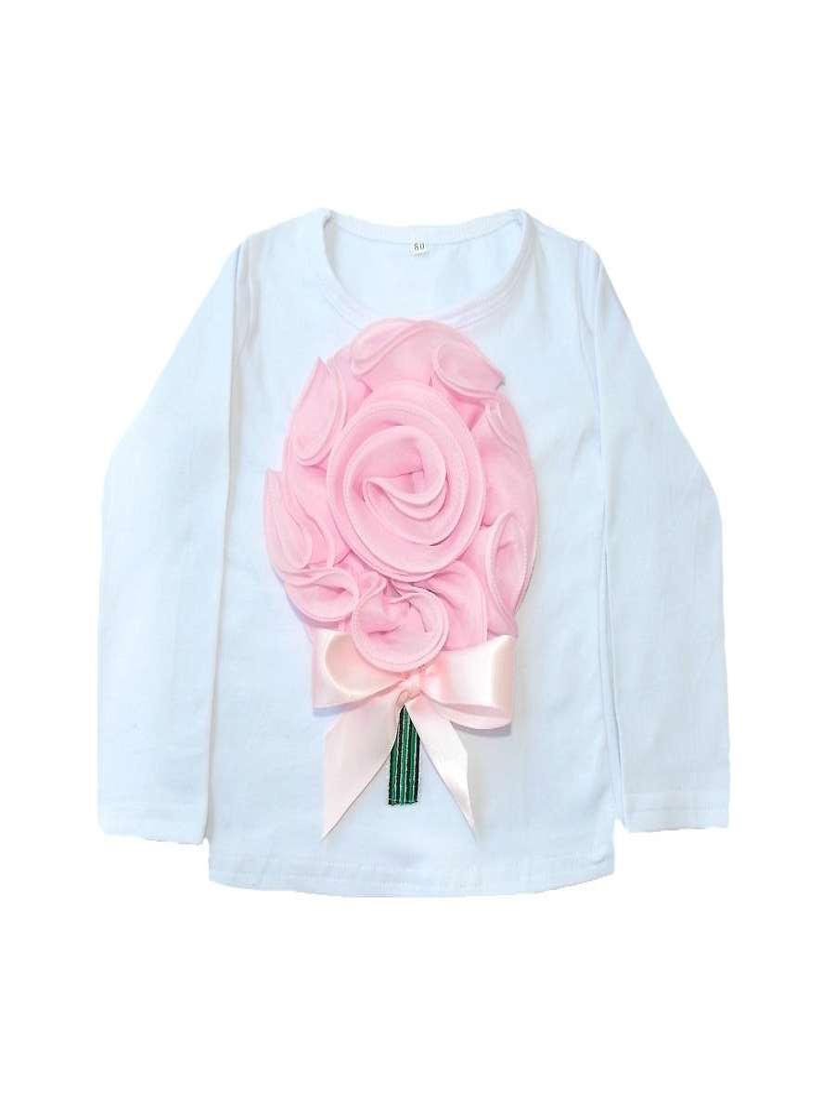 """Μπλουζάκι """"3D baby pink"""""""