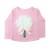 """Μπλουζάκι """"3D white flower"""""""