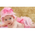 Hat and Bloomer Set